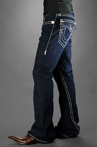 Mens True Religion Flare Jeans 03