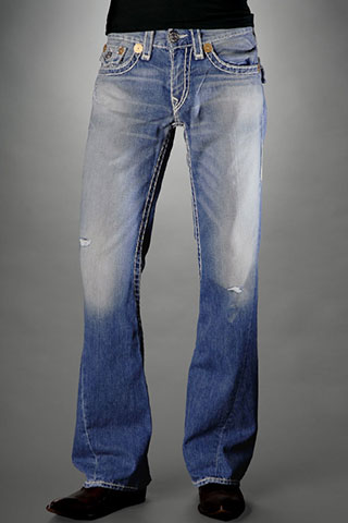 Mens True Religion Flare Jeans 04