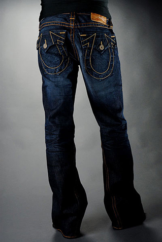 Mens True Religion Flare Jeans 05