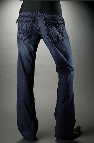 Mens True Religion Flare Jeans 06