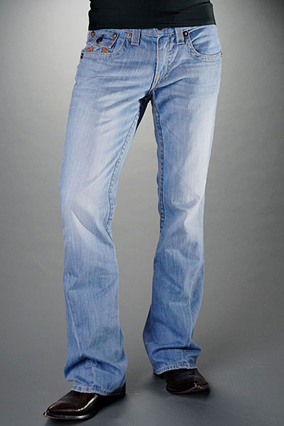 Mens True Religion Flare Jeans 07