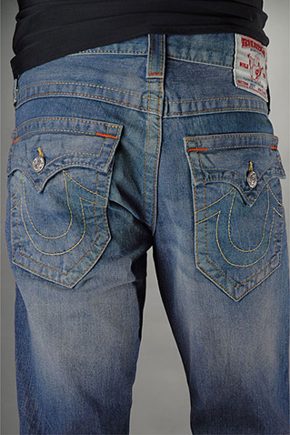 Mens True Religion Flare Jeans 08