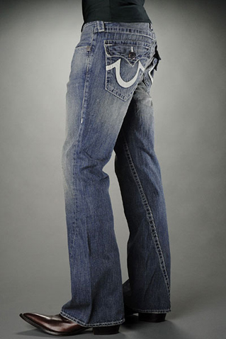 Mens True Religion Flare Jeans 09