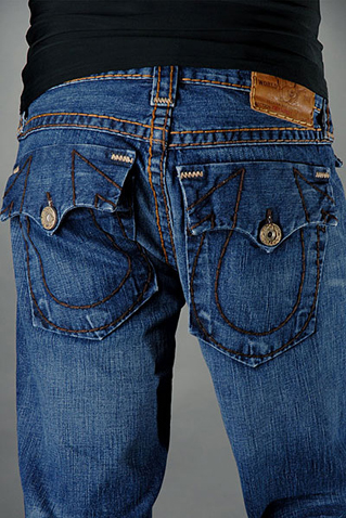 Mens True Religion Flare Jeans 10