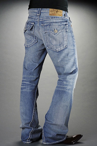 Mens True Religion Flare Jeans 11