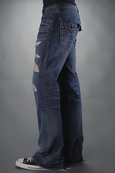 Mens True Religion Flare Jeans 13