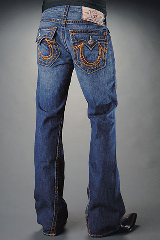 Mens True Religion Flare Jeans 14