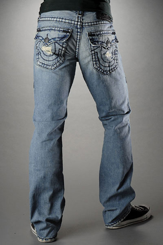 Mens True Religion Skinny Jeans M--072