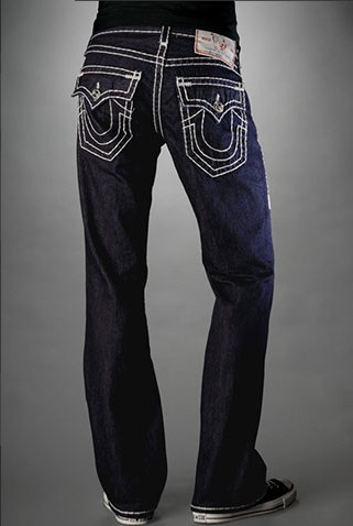 Mens True Religion Straight Jeans 001