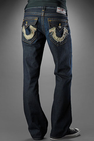 Mens True Religion Straight Jeans 002