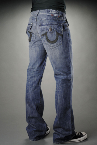 Mens True Religion Straight Jeans 035