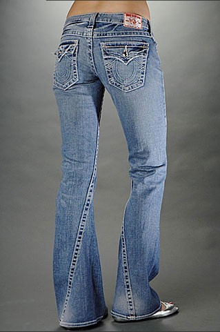 Womens True Religion Flare Jeans 12