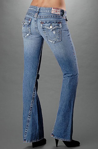 Womens True Religion Flare Jeans 16