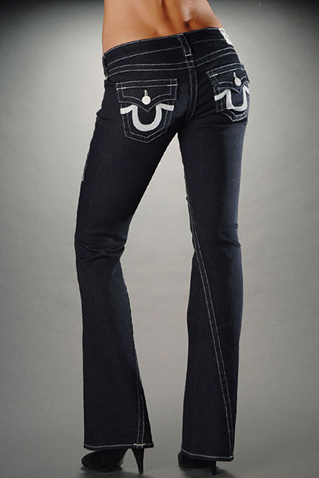 Womens True Religion Flare Jeans 20
