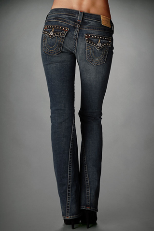 Womens True Religion Flare Jeans 24