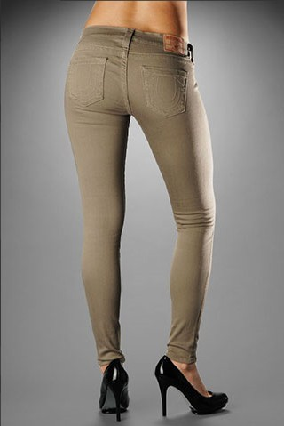Womens True Religion Skinny Jeans 01
