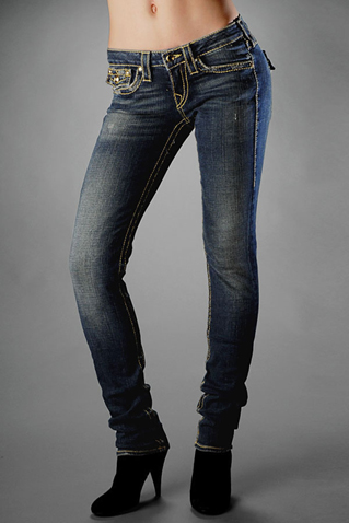 Womens True Religion Skinny Jeans 08
