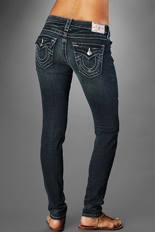 Womens True Religion Skinny Jeans 12