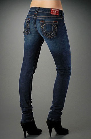 Womens True Religion Skinny Jeans 16