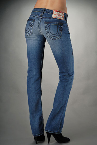 Womens True Religion Straight Jeans 04