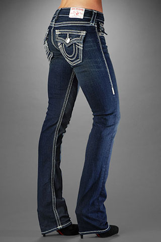 Womens True Religion Straight Jeans 11