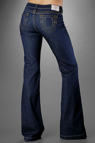 Womens True Religion Straight Jeans 15