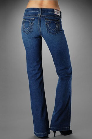 Womens True Religion Straight Jeans 16