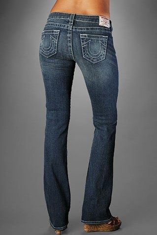 Womens True Religion Straight Jeans 24