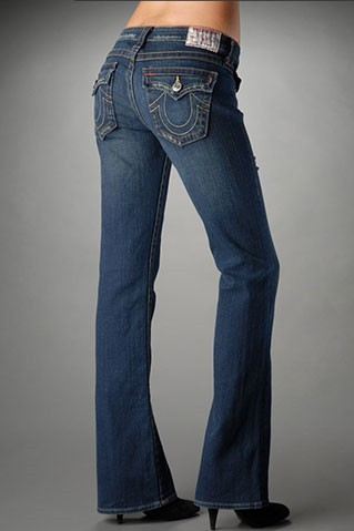 Womens True Religion Straight Jeans 43