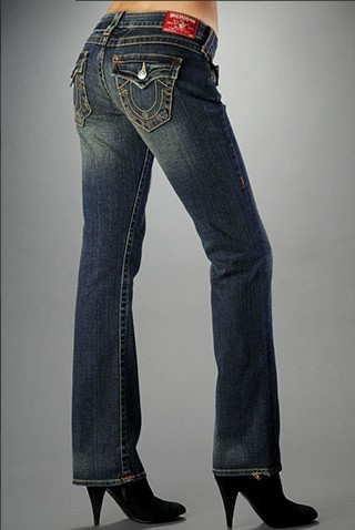 Womens True Religion Straight Jeans 50