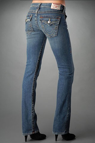 Womens True Religion Straight Jeans 53