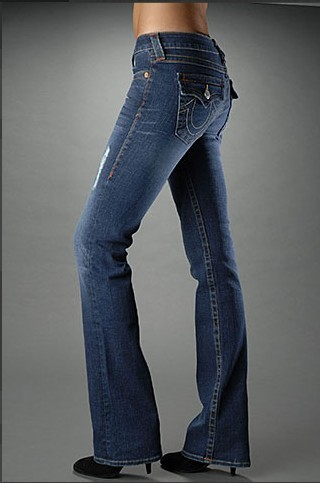 Womens True Religion Straight Jeans 56