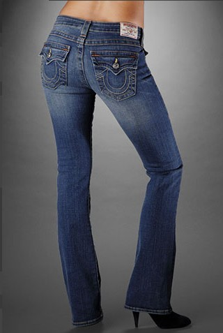 Womens True Religion Straight Jeans 58