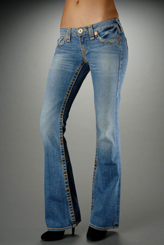 Womens True Religion Straight Jeans 60